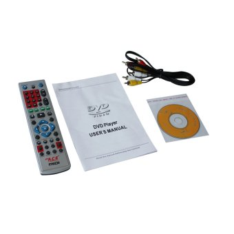 Ace MIDI-8593 Slim All In One Karaoke/DVD Player Set (Silver) withFree Ace-504 Microphone - 3