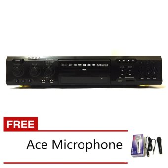 Ace MIDI-9908 Karaoke DVD Player with Games and Radio (Black) withFREE Ace-504 Microphone Price Philippines