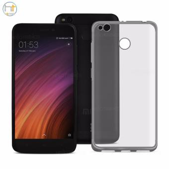 ACE Soft TPU Jelly Case for Xiaomi Redmi 4X (Silver Clear)