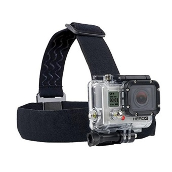 Action Camera Gopro Accessories Headband Chest Head Strap Mount Monopod for Go Pro Hero 3 3+ 4 5 SJ4000 SJ5000 Sport Cam Helmet - intl