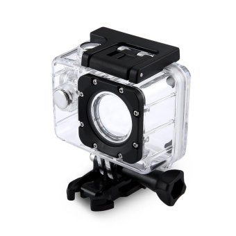 Action Sport Camera Waterproof Housing Case Underwater Housing for SJ7000 (Clear) - intl