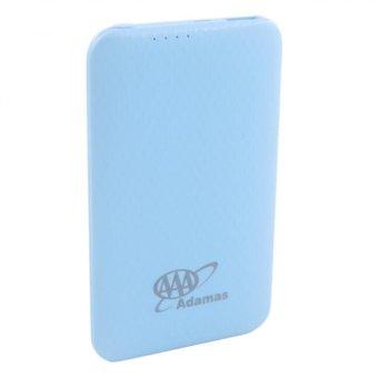 Adamas AAA 5000mah Super Thin Mobile Power Bank (Sky Blue) - 2
