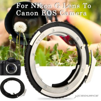 Adapter Ring For Nikon G AF-S AI F Lens to Canon EOS EF Mount DSLR Camera