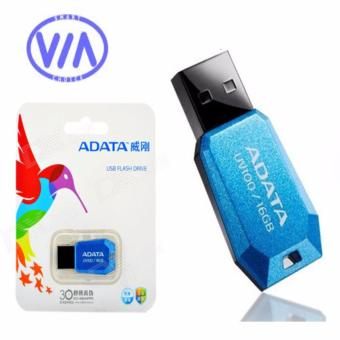 Adata DashDrive UV100 16GB USB Flash Drive (BLUE)