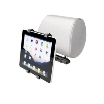 Adjustable Universal Holder For Apple iPad Tablet PC GPS CarHeadrest Mount - intl