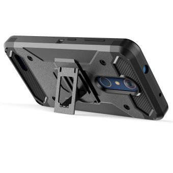 [Aegis Series] Heavy Duty Rugged Full-Body Armor Holster Case [Belt Swivel Clip [Kickstand] For LG Stylo 3 / LG Stylus 3 2017 LS777 - intl - 4