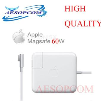 AESOPCOM 60W Magsafe 1 Power charger Adapter for Apple MacBook WHITE