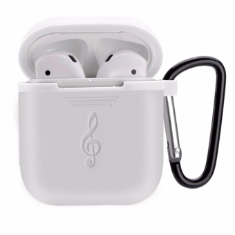 AirPods Case Protective Silicone Cover and Skin for Apple Airpods Charging Case plus - intl - 2
