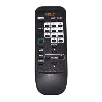 Aiwa RC-6VT06 Remote Control (Black)
