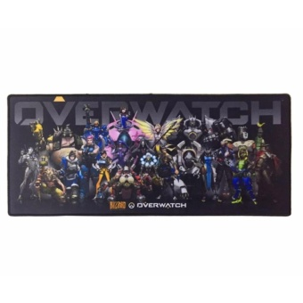 AK Overwatch Comfort Blizzard Gaming Keyboard MousePad Mouse Pad(Gray)