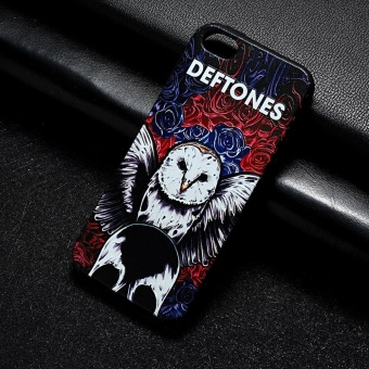 AKABEILA 3D Painted Pattern Coloured Drawing TPU Soft Phone CoverFor Apple iPhone 5 5S Case 4.0 inch For Apple iPhone SE 5G 5 5S 6CPhone Cases - intl