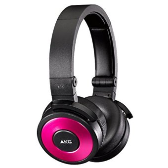 AKG K619 Premium DJ Headphones with In-Line Microphone (Pink)