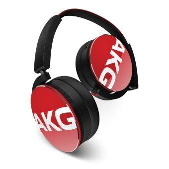 AKG Y50  Over-the-Ear Headphones (Red)