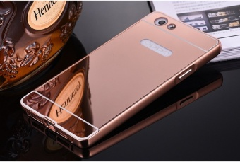 Aluminium Metal Mirror Bumper Case Cover For Oppo R1X (Color:c0) - intl