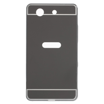 Aluminum Alloy Acrylic Hybrid Back Case for Sony Xperia Z1 Mini Compact D5503 - Black - intl