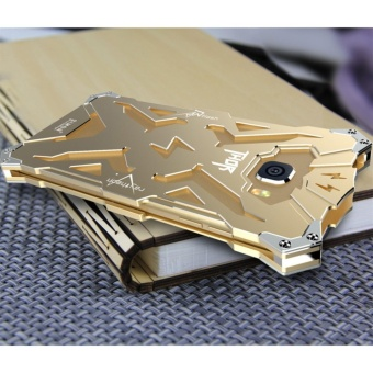For Samsung Galaxy Phones Luxury Aluminum Metal Bumper Mirror PC Source · Aluminum Metal Frame Back Cover Case for S amsung Galaxy A7 2017 Gold