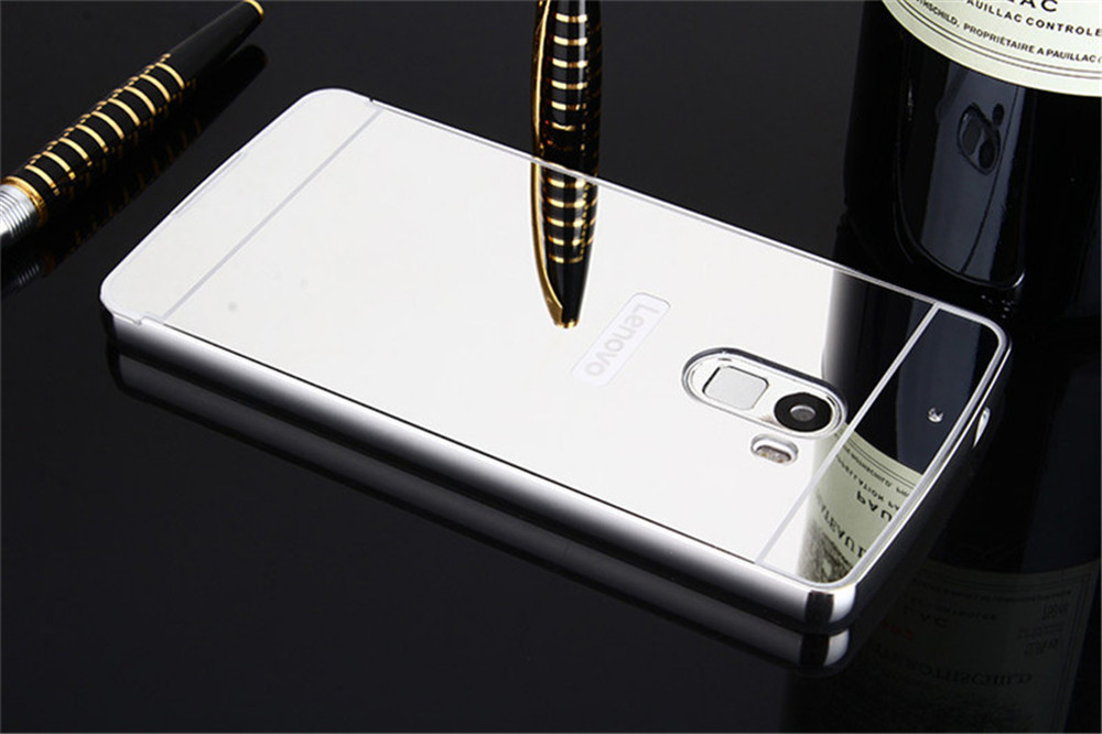 ... Aluminum Metal Frame + PC Mirror Back Cover Case For Lenovo Vibe K4Note/Lenovo Vibe ...