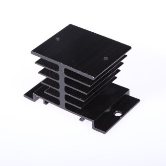 Aluminum Mini Heat Sink Heat Dissipation for Solid State Relay SSR - picture 2