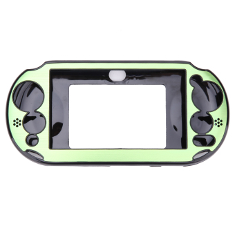 Aluminum Skin Case Cover Shell for Sony PS Vita 2000(Green)