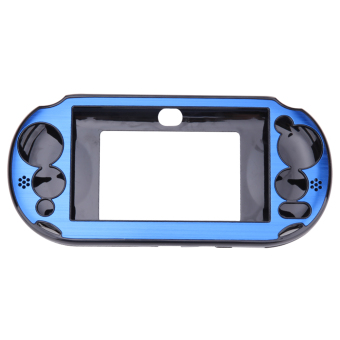 Aluminum Skin Case Cover Shell for Sony PS Vita 2000(Navy Blue)