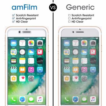 amFilm Tempered Screen Protector for Apple Iphone 6/6s/7 (2-pack) - 3