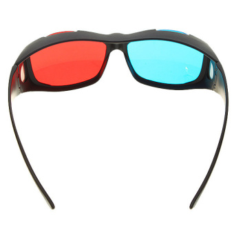 Anaglyphic Blue Red 3D Glasses (2-Pack) - 3