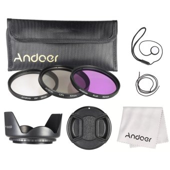 Andoer 52mm Filter Kit (UV+CPL+FLD) - INTL