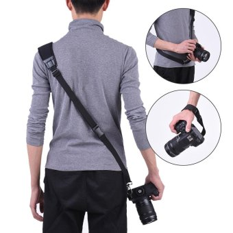 Andoer Professional Rapid Quick Release Camera Shoulder Sling Neck Wrist Strap for Canon Nikon Sony DSLR ILDC DV Outdoor Shooting Outdoorfree - intl
