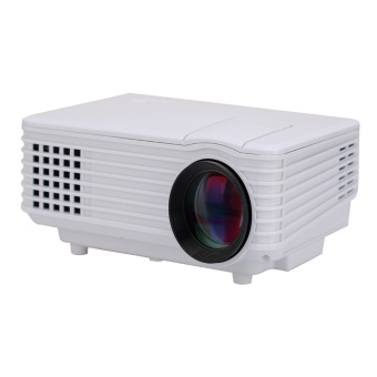 Ansee 2015 New Portable Real 1080P 120 Lumens Mini Projector White