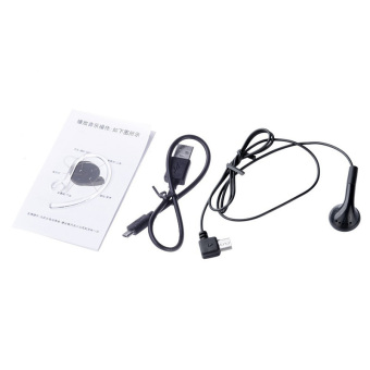 Ansee Mini A8 Button Style V4.0 Multiple Connection Wireless Bluetooth Stereo Headset (Black)
