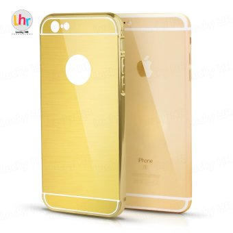 Anti-Scratch Hybrid Electroplate Case for iPhone 6 Plus (Gold)