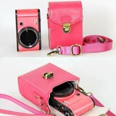 Anti-shock Hard skin Shoulder bags PU Leather Camera caseForCanonPowerShot G9X G7X G7X Mark II