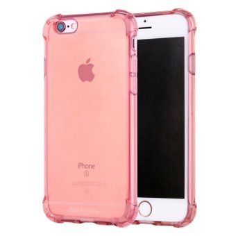 Anti-shock Silicone TPU back cover case for Apple iPhone 6S Plus/ 6 Plus (Rose Gold) - intl