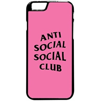 Anti Social Social Club Case Iphone 6 And 6S - intl Price Philippines