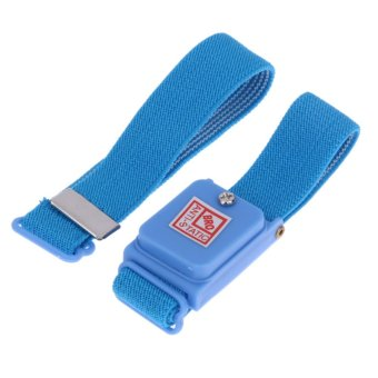 Anti-Static Dissipating Wrist Strap (Blue) Cloth