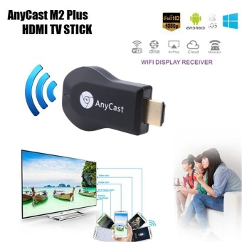 Anycast M2 Plus DLNA Airplay WiFi Display Miracast TV Dongle StickHDMI Receiver For Smart Phone Tablet PC - intl