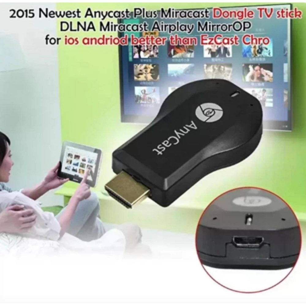 Philippines Anycast Miracast 1080p M2 Plus Wifi Hdmi Display Dlna Airplay To Dongle Receiverdlna Tv