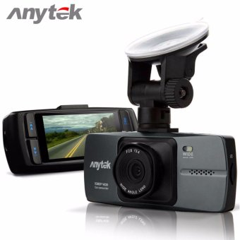 Anytek A88 Car Camera Dash Cam,Dashboard Video DVR Recorder with 2.7 Inch 1080P Full HD TFT Display 140 Degrees High Resolution Wide Angle Prime Lens (Grey)