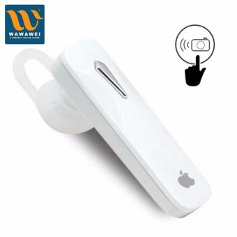 Apple Bluetooth Headset Wireless Earphones Portable HandsfreeStereo Headphones with Microphone Universal for iPhone Samsung forApple (White) Price Philippines