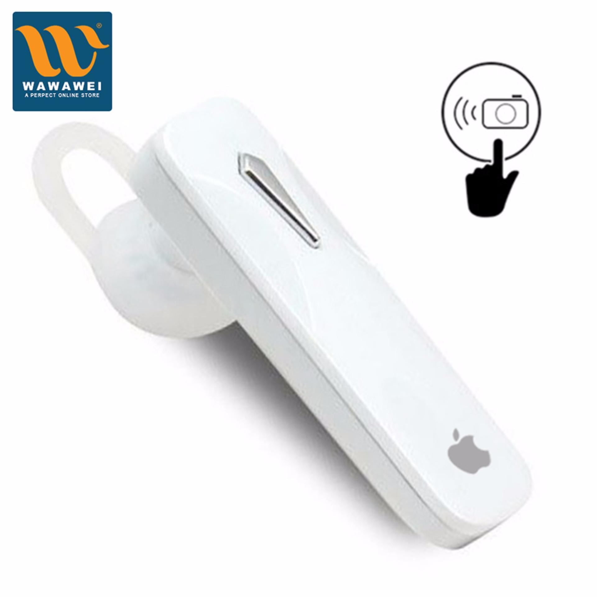 Apple Bluetooth Headset Wireless Earphones Portable HandsfreeStereo Headphones with Microphone Universal for iPhone .
