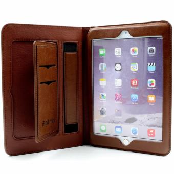 Apple Essentials Jehoel Smart Leather Case for iPad Mini (DarkBrown)