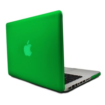 Apple Essentials Matte Hard Case for Macbook Pro 13.3 inches (Green)