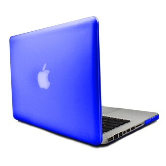 Apple Essentials Matte Hard Case for Macbook Pro 13.3 inches (Royal Blue)