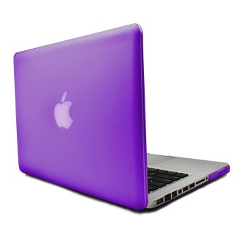 Apple Essentials Matte Hard Case for Macbook Pro 13.3 inches (Violet)
