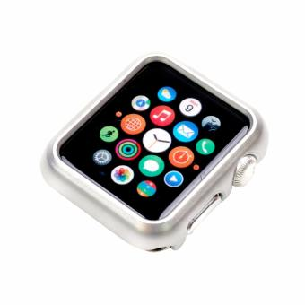 Apple Essentials Slim and Lightweight Case for Apple Watch 42mm(Silver)