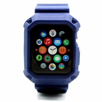 Apple Essentials Sporty TPU Strap for Apple Watch 38mm (Navy) - 3
