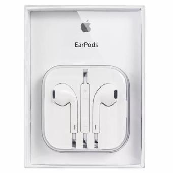 Apple ORIGINAL109dB Earpods / Headset with Remote Controller andMic for iPhone / iPod Touch / iPad / iPad Mini (White)