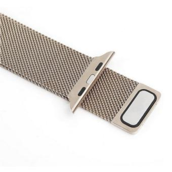 Apple Watch Band - 38mm Milanese Loop Stainless Steel BraceletStrap Magnetic Closure Clasp - Replacement Wrist Band for iWatchSeries 1 Series 2 Sport & Edition - intl - 3