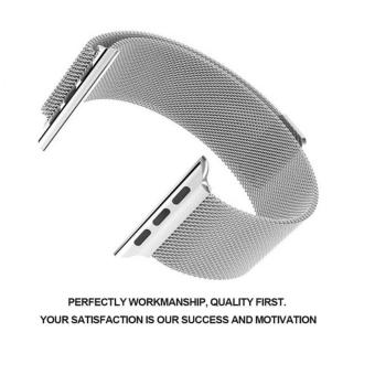 Apple Watch Band - 42mm Milanese Loop Stainless Steel Bracelet Strap Magnetic Closure Clasp - Replacement Wrist Band for iWatch Series 1 Series 2 Sport & Edition - intl - 2
