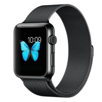 Apple Watch Band, Penom Fully Magnetic Closure Clasp Mesh LoopMilanese Stainless Steel Bracelet Strap for Apple iWatch Sport& Edition 42mm - intl